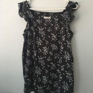 Ann Taylor Loft (Outlet) floral blouse